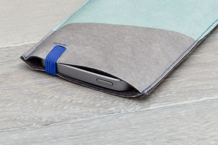 Smartphone Cover - Grey/ Turquoise (Regular)