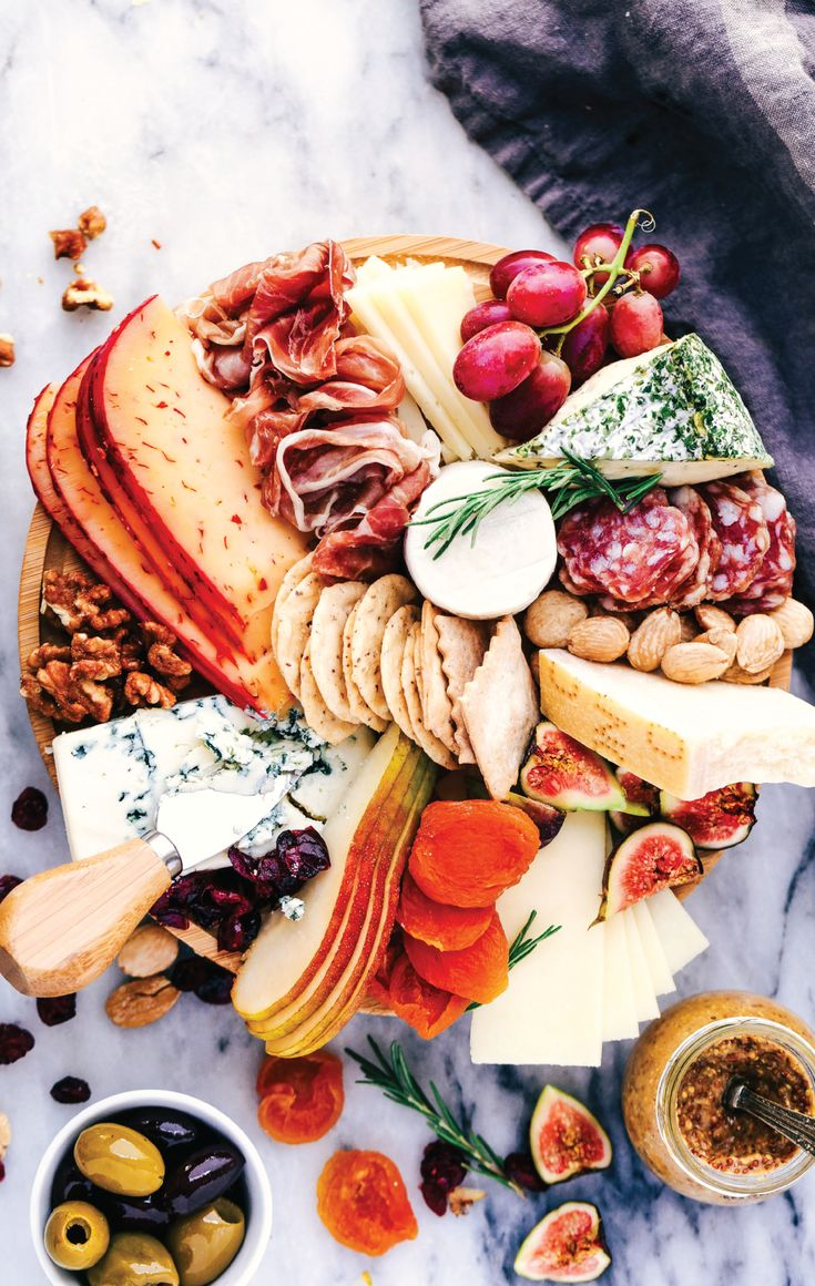 Savory cheeses, dried fruits, cured meats, roasted nuts, you name it, this cheese board has it all! Check out this charcuterie recipe to up your entertaining game with a stunning appetizer.