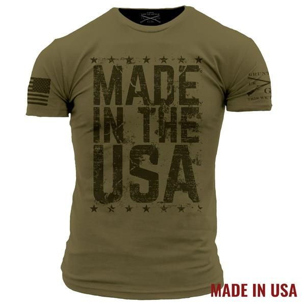 Made In The USA – Grunt Style