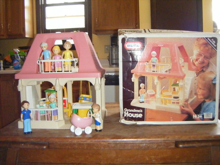 Toys For Grandparents House : Little tikes quot grandma s house playst dream playhouse