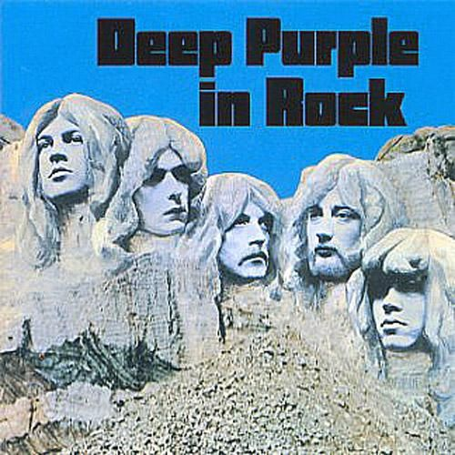 Deep Purple, In Rock***** [1970]: Here's where Deep Purple move in the direction of heavy metal. In fact, I would call this album a strong heavy metal album and probably only the third true heavy metal album up to this point. This is also the Mark II version of DP, and I have to say that the band really found its sound here. I'm loving it. (3/9/2014)