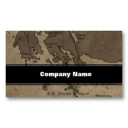 Vintage Antique Ship Wreck Map Business Card Templates 50% off business cards!  Use coupon code MAKEIMPRESSN  Ends July 10, 2013 at 11:59 PM PT