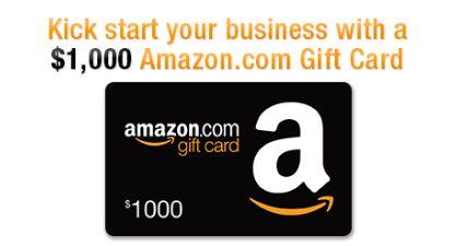 @Amazon: Sorteo de $1,000 en tarjeta de regalo