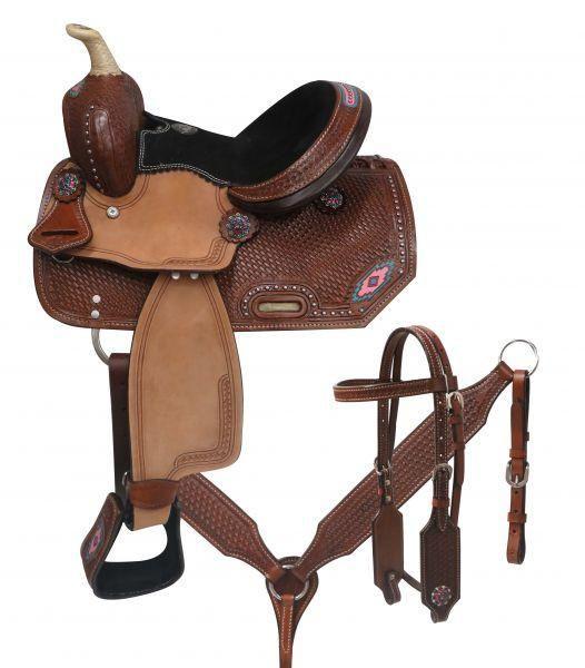 Double T Youth/Pony saddle set