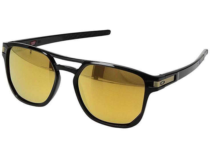 Oakley Latch Beta Sport Sunglasses Polished BlackPrizm 24K