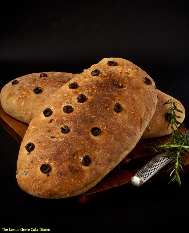 Maggie Beer's Olive and Rosemary Bread