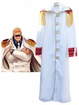 One Piece Monkey.D.Kapu Uniform Cloth Cosplay Outfits Costumes