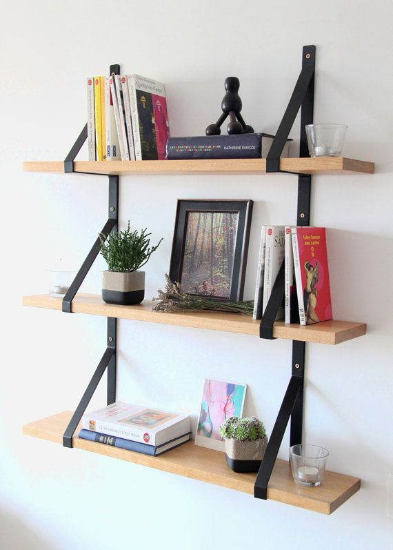 25 best ideas about etagere bois et metal on pinterest biblioth que en m tal equerre etagere. Black Bedroom Furniture Sets. Home Design Ideas