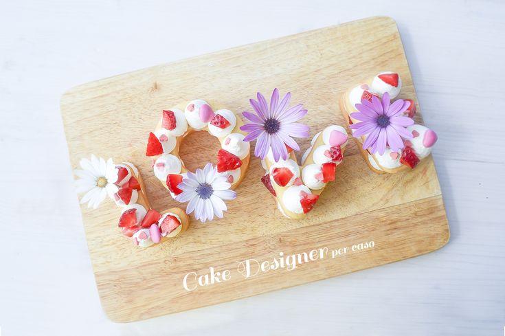 [Cake designer per caso] LOVE Cream Tart
