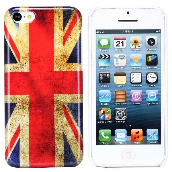 Britse vlag hardcase hoesje iPhone 5C