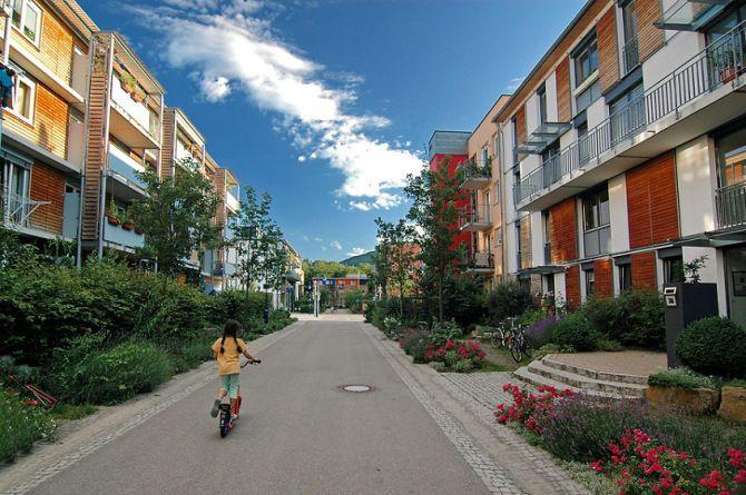 Vauban - Freiburg   Arquitetura Sustentavel