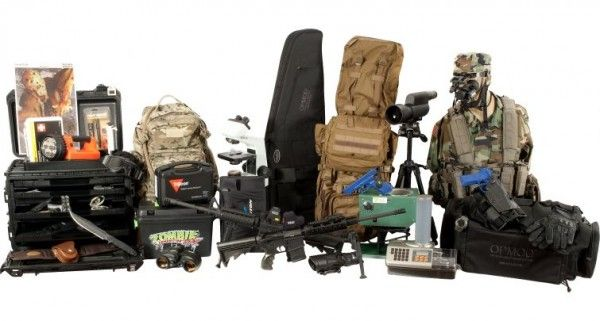 Un kit de survie Zombie à 24 000 dollars