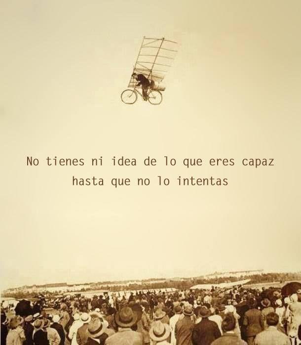 No tienes ni idea de lo que eres #capaz hasta que no lo intentas. Psicomold Psic…