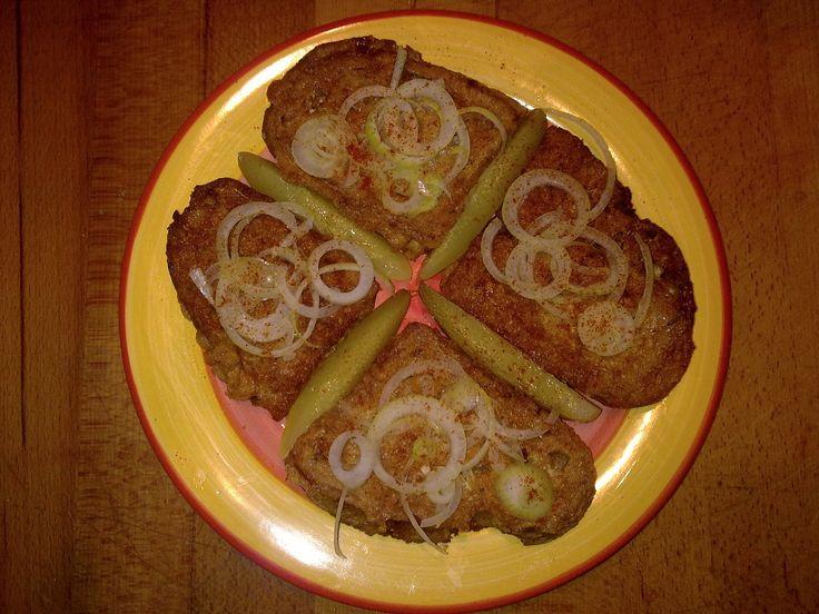 chleba ve vajíčku s parmazánem
