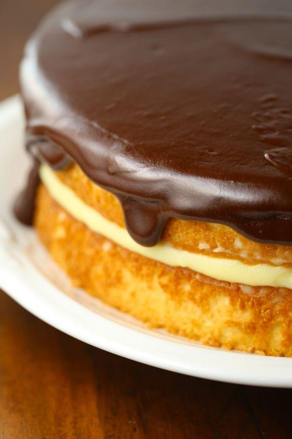 Boston Cream Pie Birthday Cake Robinslovefood25