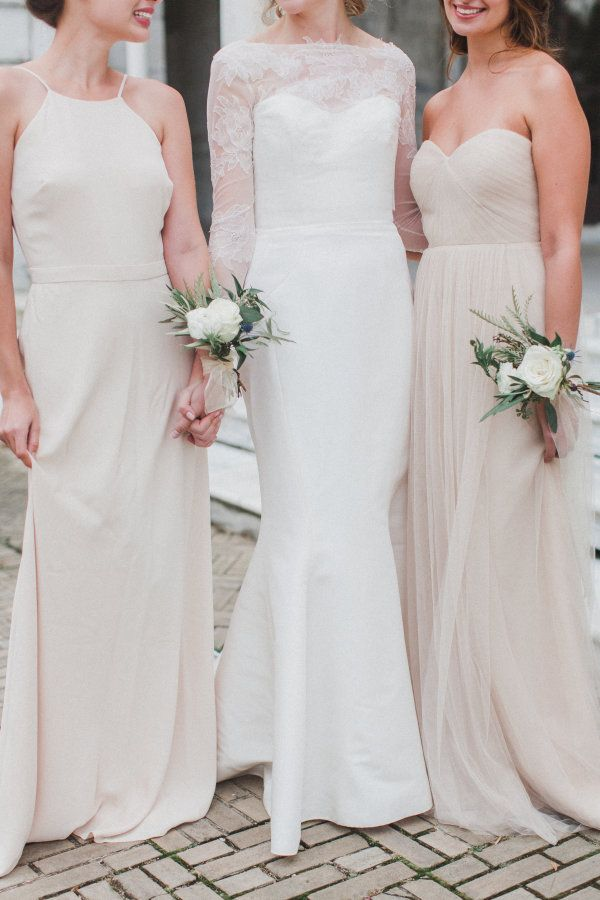 Ethereal Early Morning Wedding Inspiration In 2018 Bridesmaid Style Pinterest Dresses And