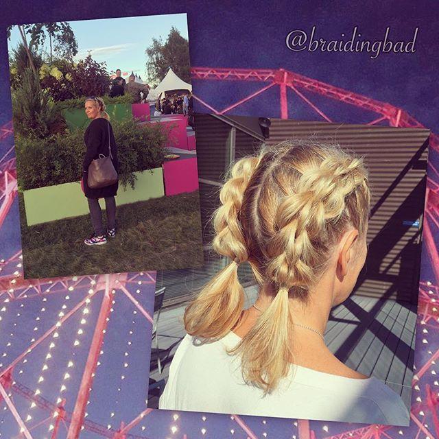 #festivalhair for #flow2016 😍: #threestrandpullthroughbraid #pigtails 👧🏼 . #flowfestival2016 #3dpullthroughbraid #kolmeosainenläpivetoletti #braiding #braidinghair #braidideas #instabraids #letit #lettikampaus #letitys #hairdo #hairstyles #flette #plaitedhair #suomiletit #braidsforgirls #featuremeisijatytot #braidinginspiration #inspirationalbraids #flowlook #festaritukka