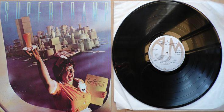 SUPERTRAMP Breakfast In America 1979 GREEK Rare VINYL LP AMLK64747 FREE S&H in Music, Records, Albums/ LPs   eBay!