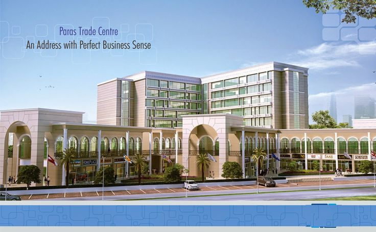 Paras Buildtech: Excellent Place for Business With View of Aravalli...