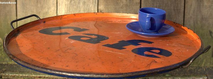 Dienblad recycle oil drum tray Katoo&Zoo