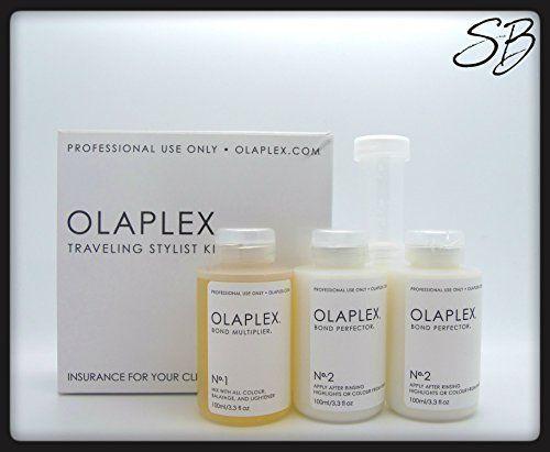 Olaplex Traveling Stylist Kit (travel kit to start, smaller and cheaper)