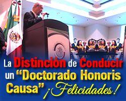 #Distinción #Conducir #Doctorado #Honoris #Causa  http://www.epicapacitacion.com.mx/articulos_info.php?id_articulo=436