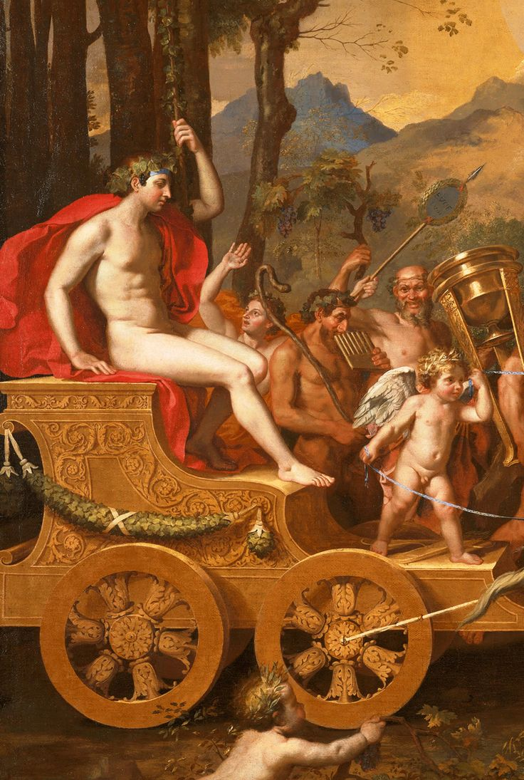 "jaded-mandarin: "" Nicolas Poussin. Detail from The Triumph of Bacchus, 1636. """