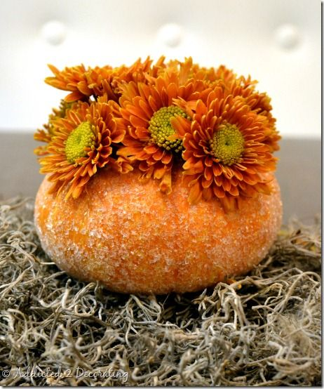 Miniature Pumpkin Vases - Addicted 2 Decorating®
