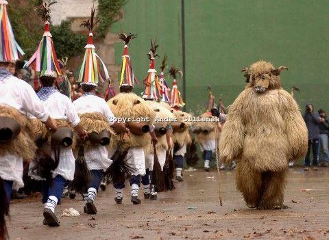 Zanpantzar traditional ancient carnival