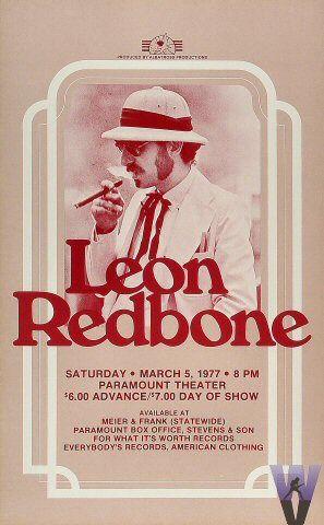 Leon Redbone Portland, Oregon 1977