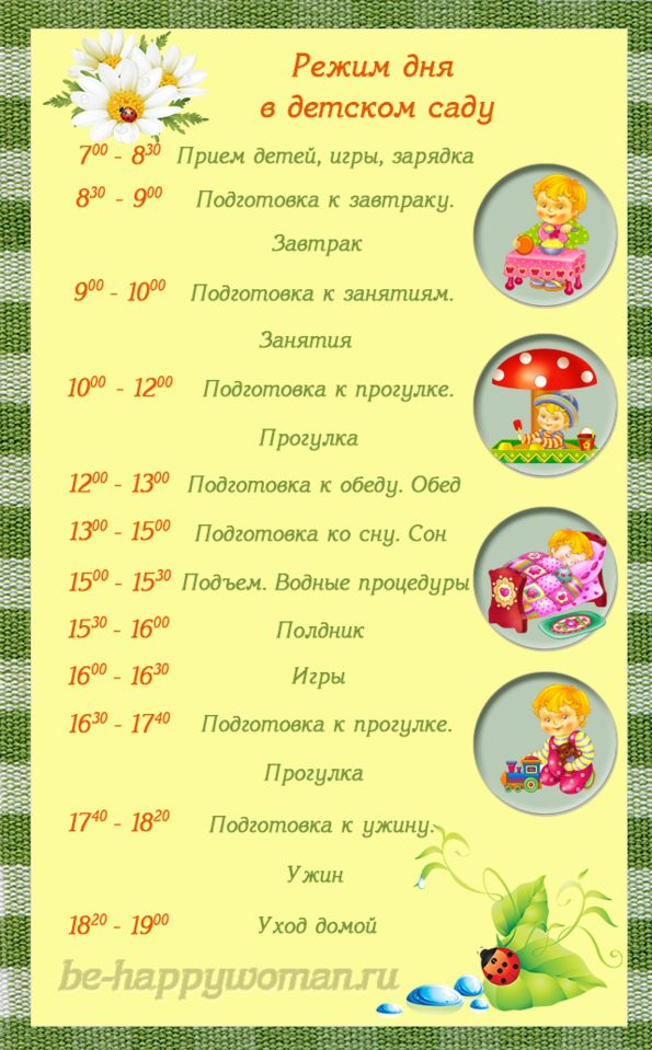 режим дня ребенка 3 лет в картинках: 26 тыс изображений найдено в Яндекс.Картинках