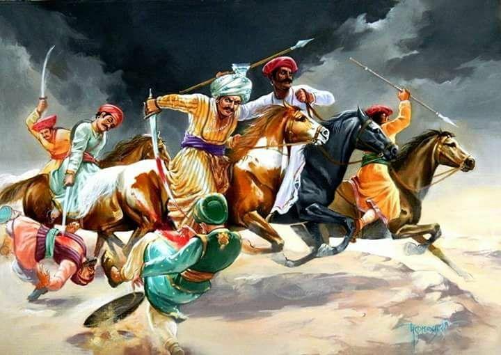 Maratha warriors