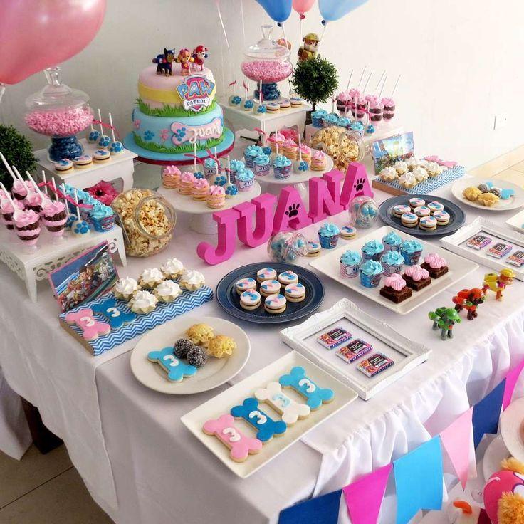 Puppy Kitty Birthday Party Cakes