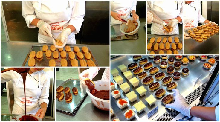 step by step the process of an exquisite éclair