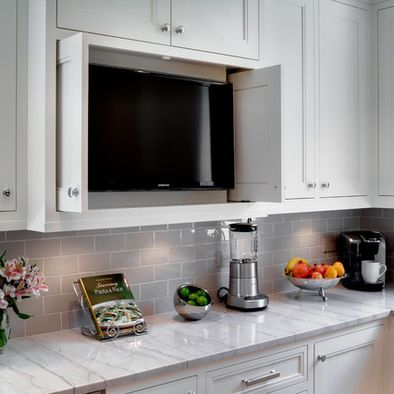 25 best ideas about kitchen tv on pinterest hide tv tv