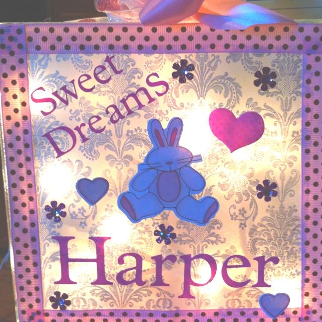 Harper's night light!
