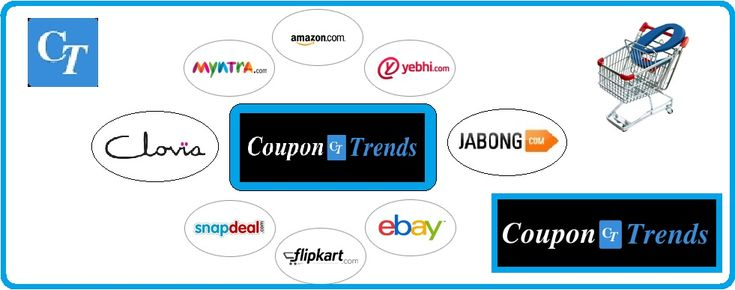 Online Coupons, Discount Promo Codes, Deals & offers . Coupontrends.in  is the great place to find amazing #OnlineShoppingDeals and #Coupons. You can find Shopping Deals and #FreeOnlineCoupons of online stores including #Flipkart #AmazonIndia #Jabong #Snapdeal #Myntra #Freecharge #Paytm #Cleartrip #Yatra and much more