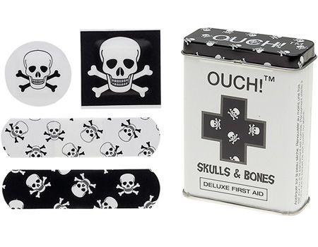 For Pirate boo-boos.