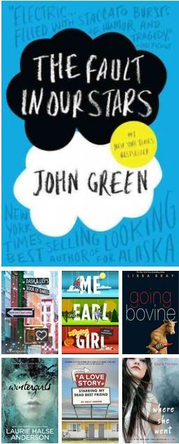 """What to Read After, or While Waiting for, """"The Fault in Our Stars"""". 