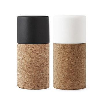 These 58°Salt & Pepper Shakers by Norman Copenhagen would look great as part of a minimalist or monochrome room scheme.