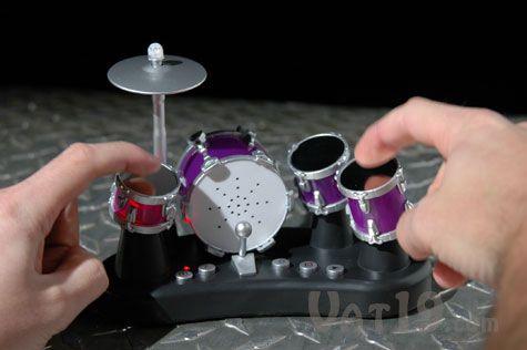Finger Drums Electric Drum Set with touch-sensitive drums. #drums #music #mini