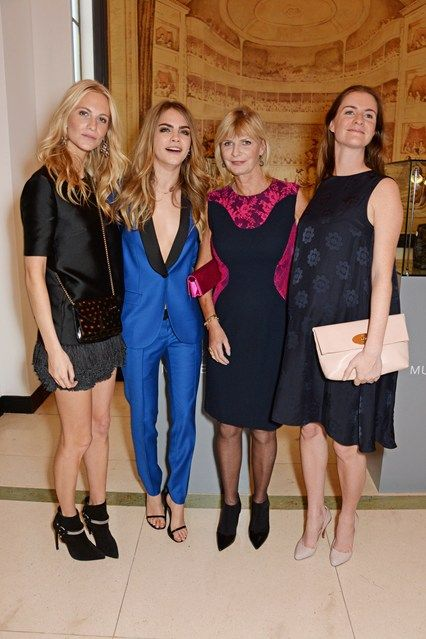 Poppy and Cara Delevingnes Mother Pandora To Write Book (Vogue.co.uk)