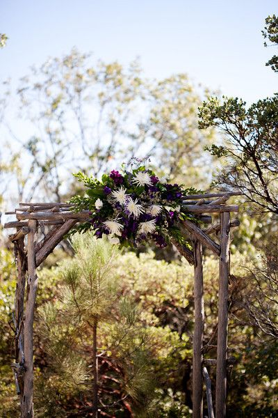 wedding arbor decorations | Rustic Wedding At Pine Hills Lodge - Rustic Wedding Chic