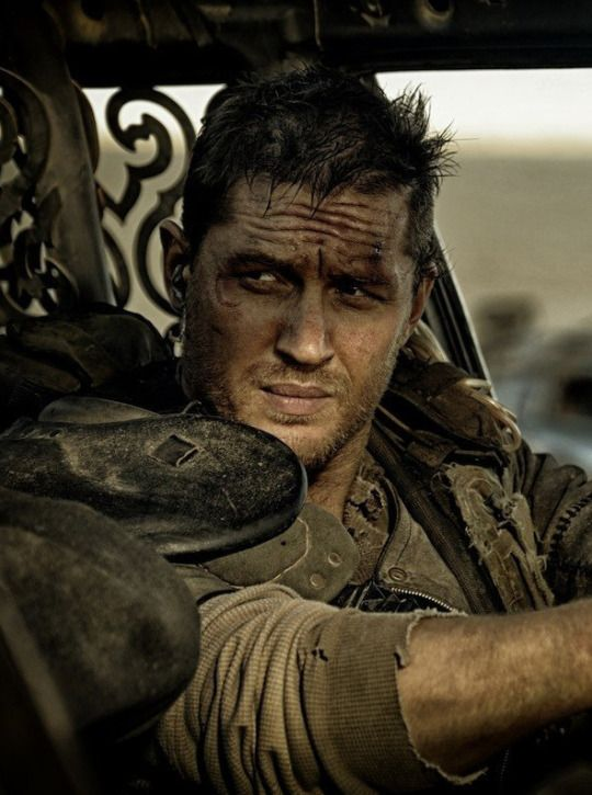 Tom Hardy - Mad Max Fury Road Omg when to see this in 3d today i knew itd be as good as i thought and madre de dios tom hardy is mmmmmmmm