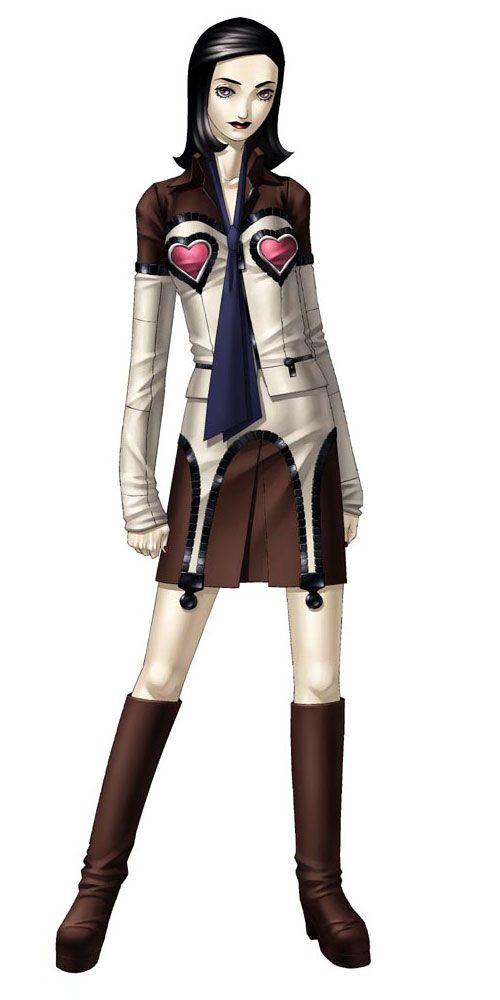 Character Design Maya : Amano maya original design from persona by kaneko