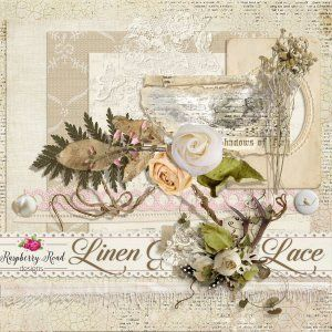 Linen And Lace Freebie - RaspBerryRoad design store - 2016
