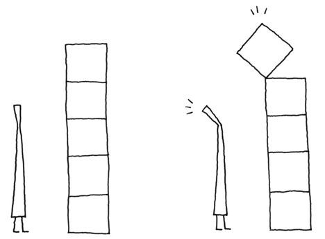 """""""My sketches are really awful"""" - Nendo's Oki Sato  Drop Bookshelves for Cappellini Concepts"""