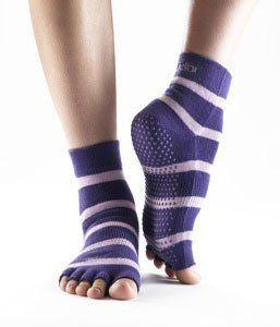 ToeSox Half Toe Yoga/Pilates Toe Socks With Grips, « Clothing Impulse