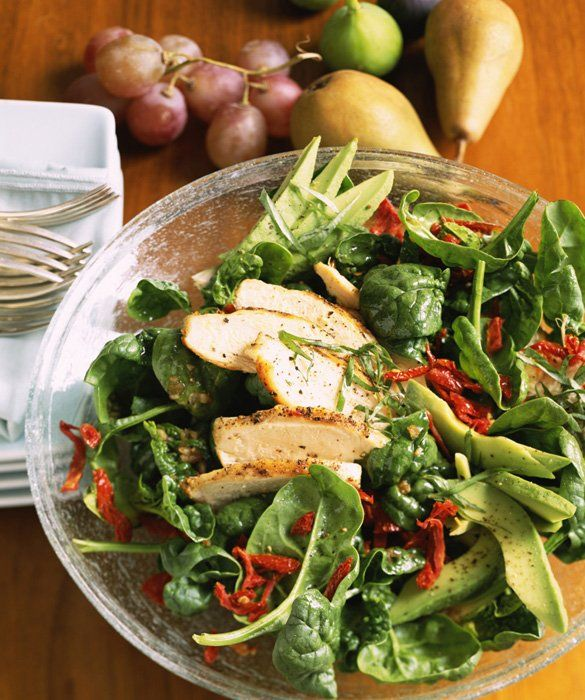 Fresh and Delicious Spring Salads: Grilled Chicken Salad
