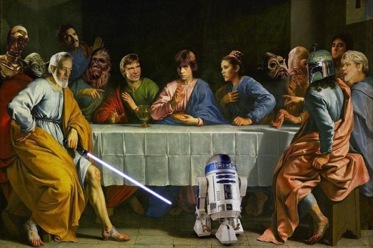 The Last Star Wars Supper Poster  Price: 736